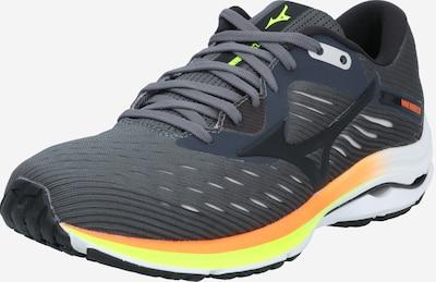 MIZUNO Chaussure de course en vert foncé / orange / noir, Vue avec produit