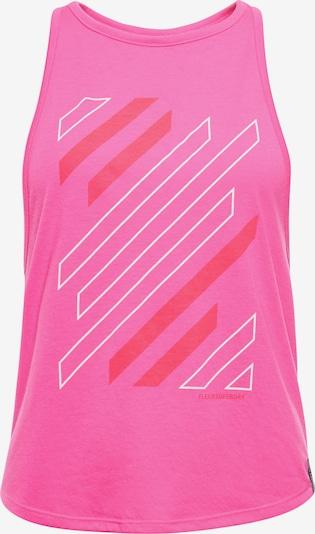 Superdry Haut de sport en rose, Vue avec produit