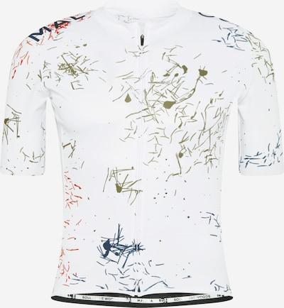 Maloja Trykot 'Weisstanne' w kolorze granatowy / khaki / czerwony / białym, Podgląd produktu
