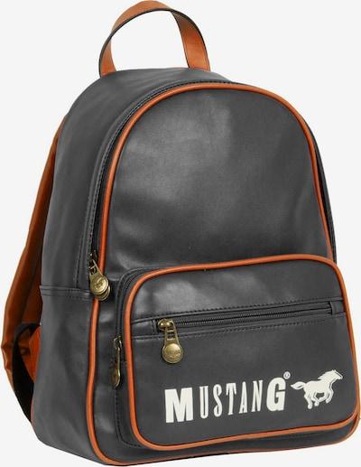 MUSTANG Rucksack in orange / schwarz / weiß, Produktansicht