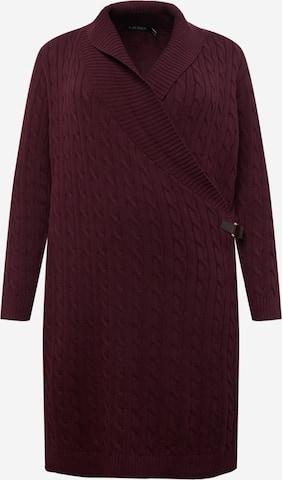 Lauren Ralph Lauren Kleid 'MADASKA' in Rot