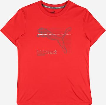PUMA Sportshirt 'Poly' in Rot