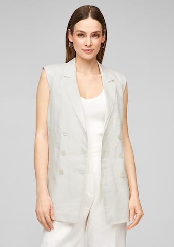 s.Oliver BLACK LABEL Vest in White