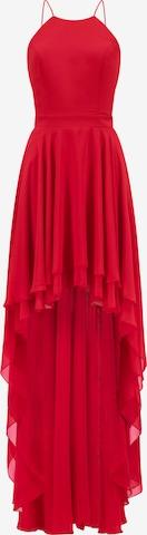 Prestije Neckholder Minikleid in Rot