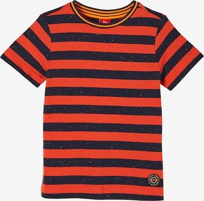 s.Oliver Shirt in blau / rot, Produktansicht