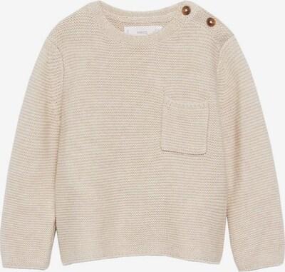 MANGO KIDS Pullover in beige, Produktansicht