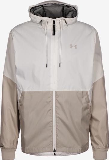 UNDER ARMOUR Veste de sport 'Legacy ' en beige / blanc, Vue avec produit