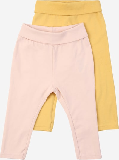 NAME IT Pantalon 'FRANSISKA' en jaune d'or / rose, Vue avec produit