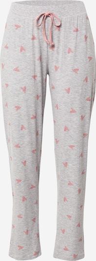 Mey Spodnie od piżamy 'Viviana' w kolorze nakrapiany szary / różowy pudrowym, Podgląd produktu