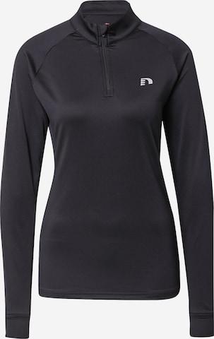 NewlineSportska sweater majica - crna boja