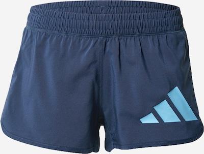 ADIDAS PERFORMANCE Sportovní kalhoty - aqua modrá / tmavě modrá, Produkt