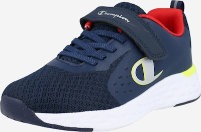 Champion Authentic Athletic Apparel Sneakers 'BOLD' in de kleur Navy / Limoen / Rood, Productweergave