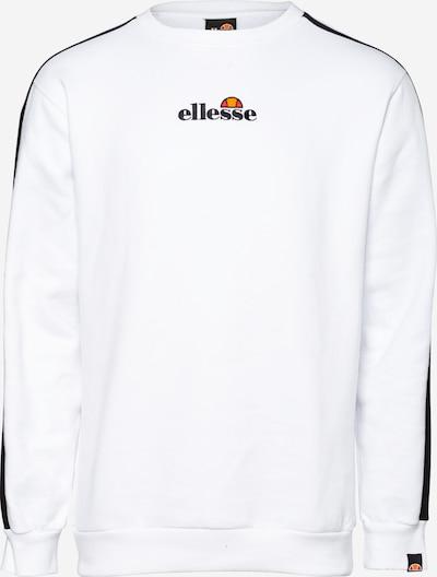 ELLESSE Sweatshirt 'Buralto' in nachtblau / orange / orangerot / schwarz / offwhite, Produktansicht
