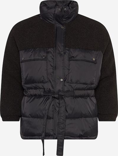 Urban Classics Curvy Winter jacket 'Sherpa' in Black, Item view