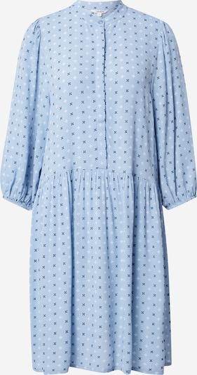 mbym Skjortklänning 'Corry' i nattblå / ljusblå / vit, Produktvy