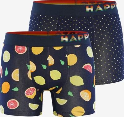 Happy Shorts Boxershorts ' Trunks #2 ' in de kleur Donkerblauw / Gemengde kleuren, Productweergave