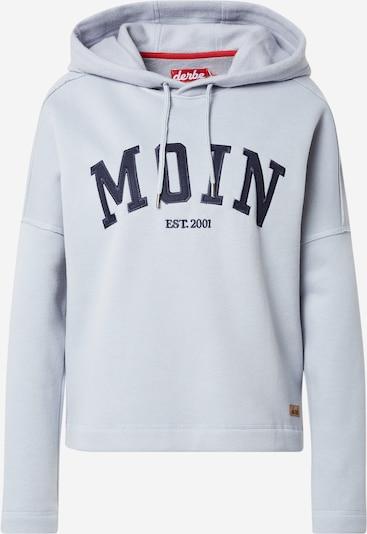 Derbe Sweatshirt in Navy / Light grey, Item view