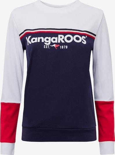 KangaROOS Sweatshirt in navy / rot / weiß, Produktansicht
