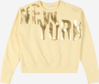 NAME IT Sweat-shirt en jaune / or, Vue avec produit