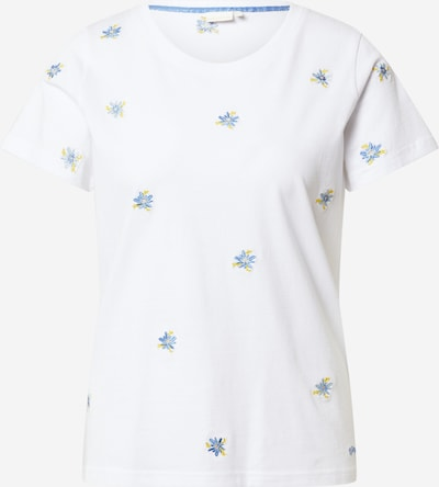 NÜMPH Shirt 'CYLIA' in Light blue / Yellow / White, Item view