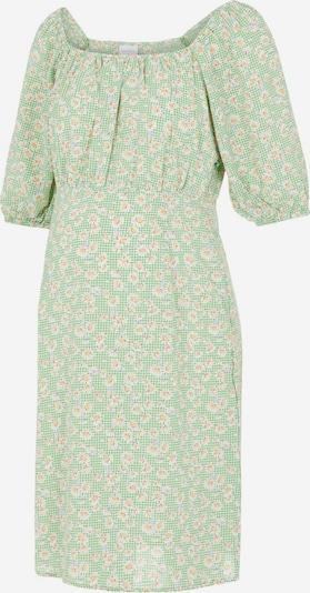 MAMALICIOUS Kleid in hellgrün / orange / weiß, Produktansicht