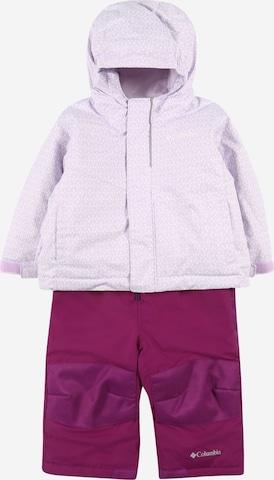 Costume fonctionnel COLUMBIA en violet