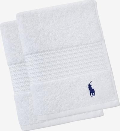 RALPH LAUREN Gästehandtücher 'POLO PLAYER' in weiß, Produktansicht