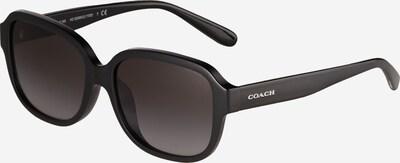 COACH Sonnenbrille '0HC8298U' in schwarz / weiß, Produktansicht