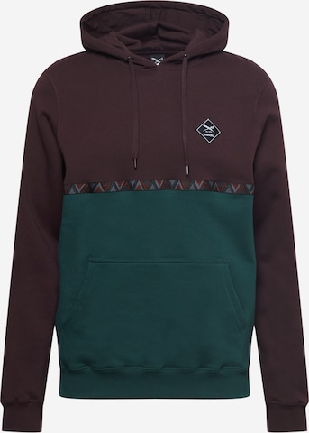 Iriedaily Sweatshirt 'Monte Banda' in Brown