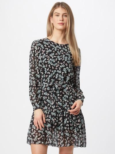 ZABAIONE Kleid 'Merle' in hellblau / rosa / schwarz, Modelansicht