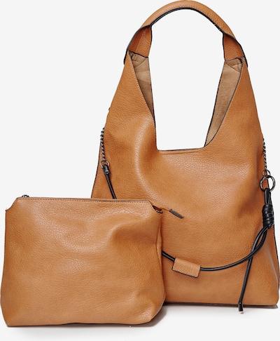 HARPA Schultertasche plus Kosmetiktasche in camel, Produktansicht
