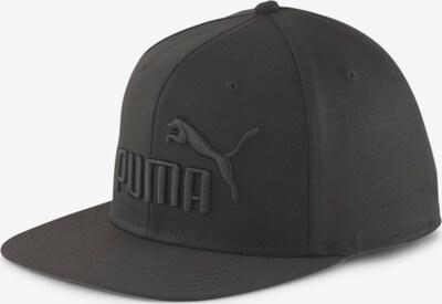 PUMA Sportpet 'Flat Brim' in de kleur Zwart, Productweergave