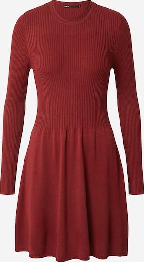 Megzta suknelė 'ALMA' iš ONLY, spalva – vyno raudona spalva, Prekių apžvalga