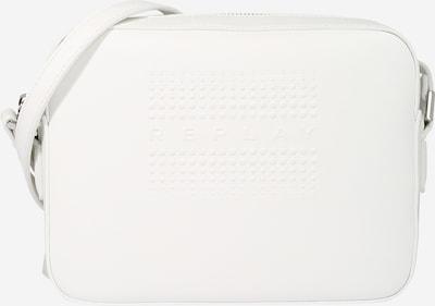 REPLAY Umhängetasche 22 cm in weiß, Produktansicht