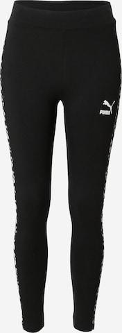 PUMA Leggings i svart