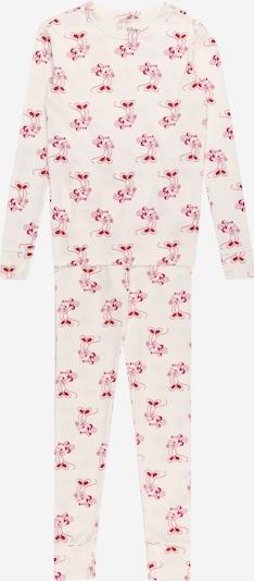 Pijamale GAP pe roșu / alb murdar, Vizualizare produs
