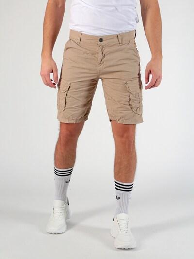 Miracle of Denim Shorts 'Gent' in beige, Modelansicht