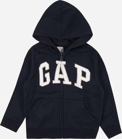 GAP Sweatjacke in blau / weiß, Produktansicht