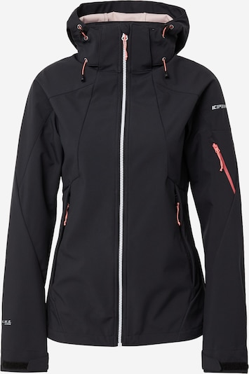 ICEPEAK Outdoor jacket 'Baraboo' in Anthracite / Pink / Silver, Item view