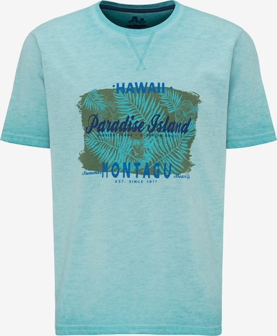 PIONEER T-Shirt in türkis, Produktansicht