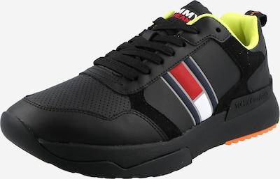 Tommy Jeans Sneaker low en marine / rot / schwarz / weiß, Vue avec produit