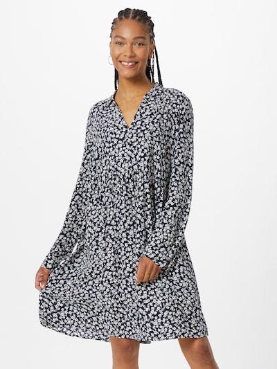 ESPRIT Kleid in navy / orange / weiß, Modelansicht