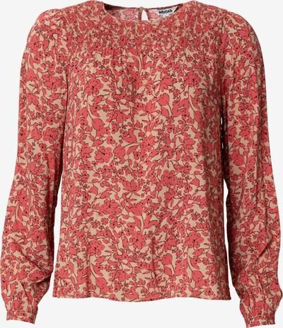 Indiska Bluse 'IMI' in rosé / puder / schwarz, Produktansicht