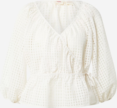 LEVI'S Bluse 'Deliah' i creme, Produktvisning