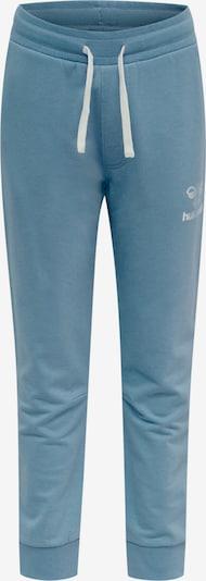 Hummel Broek in de kleur Blauw / Lichtgrijs / Wit, Productweergave