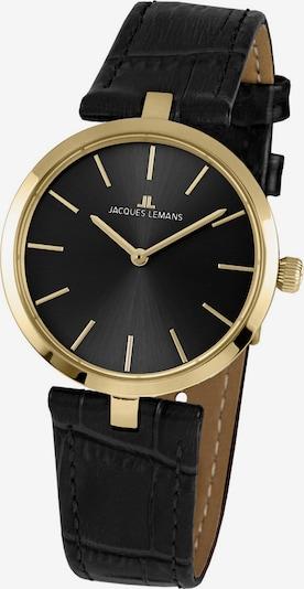 Jacques Lemans Jacques Lemans Damen-Uhren Analog Quarz ' ' in schwarz, Produktansicht
