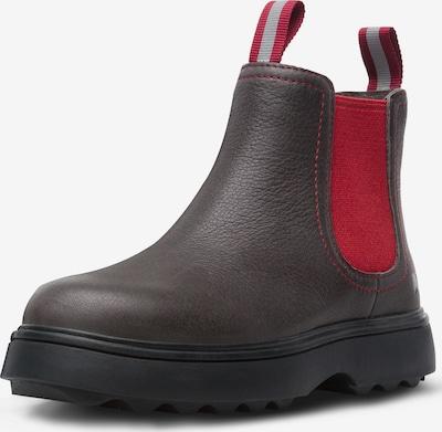 CAMPER Stiefel ' Norte ' in dunkelgrau / rot, Produktansicht