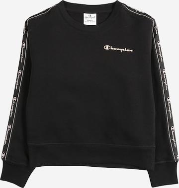Bluză de molton de la Champion Authentic Athletic Apparel pe negru