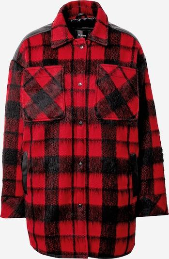 BE EDGY Bluse 'Guinn' in rot / schwarz, Produktansicht
