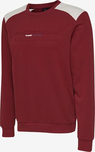 Hummel Sweatshirt in rot / weiß, Produktansicht